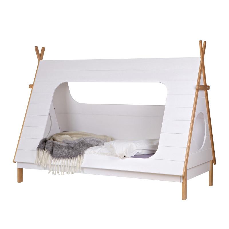 kinderbett zeltbett spielbett tipi wei. Black Bedroom Furniture Sets. Home Design Ideas