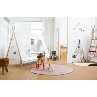 Kinderbett weiß  Kinderbett Zeltbett Spielbett Tipi weiß | dezain.de, 390,00 €